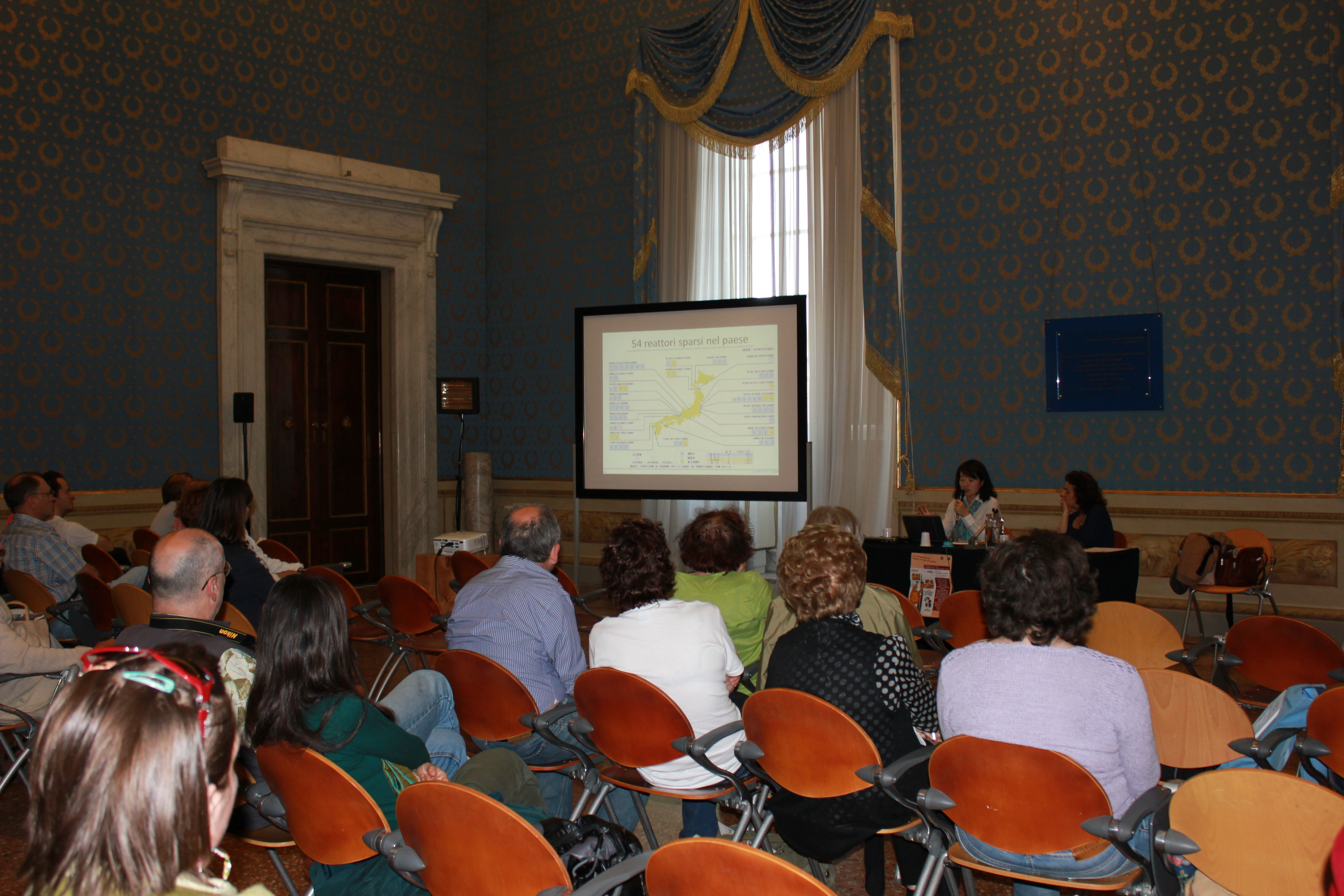 Conferenza organizzata dalla Provincia di Lucca / Scuola per la pace