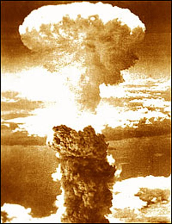 Atomic explosion at Hiroshima