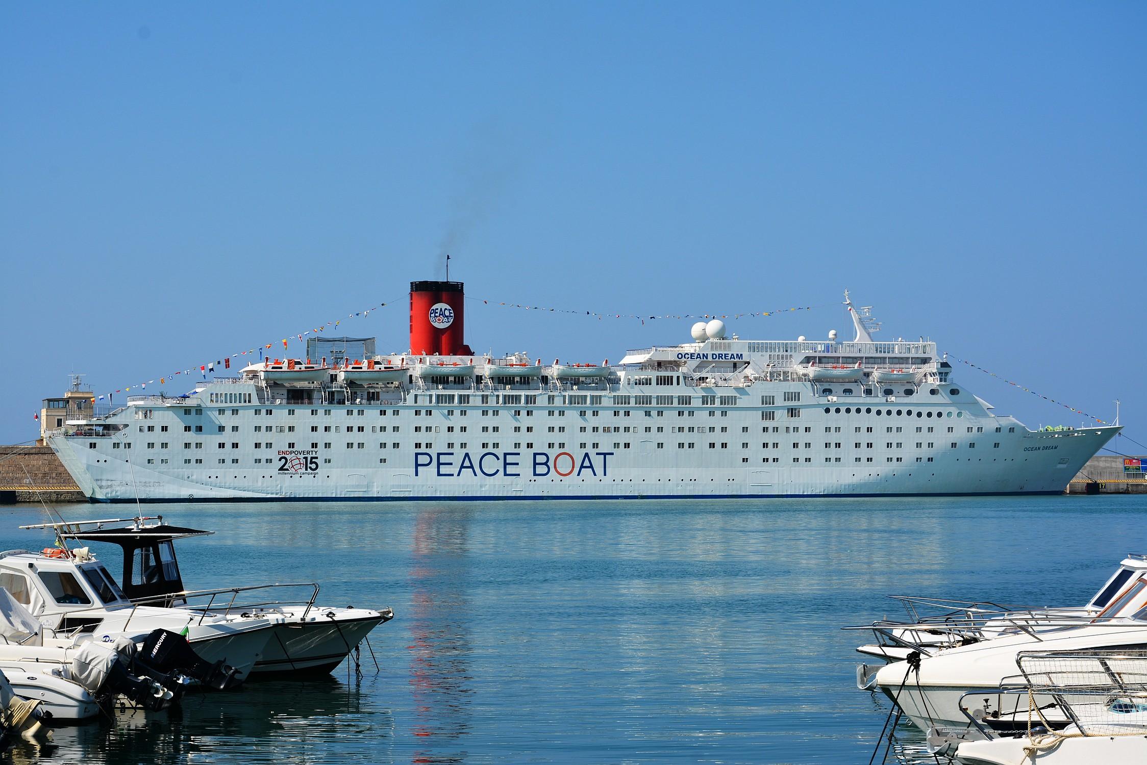 Peace Boat @ Civitavecchia