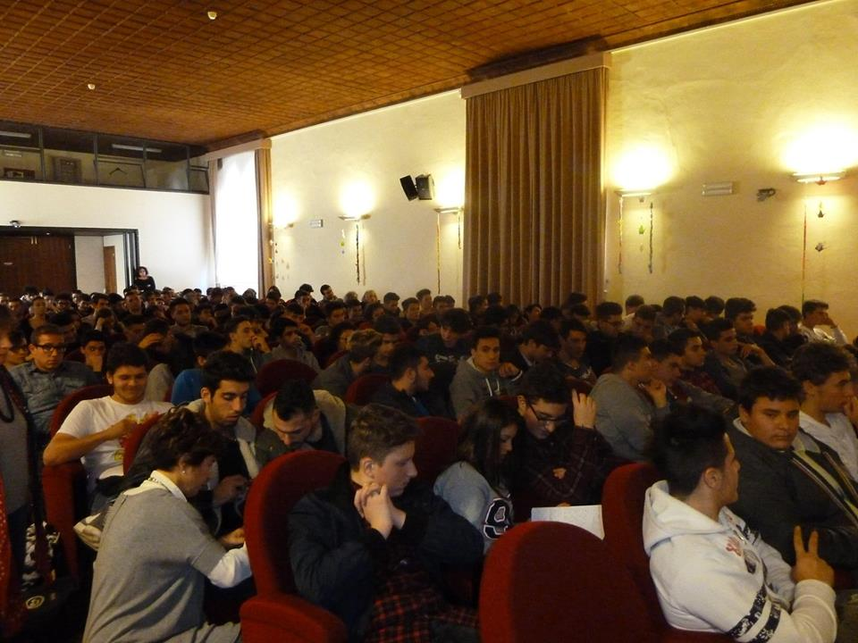Foligno Palazzo Trinci Conferenza per scuole superiori 9.11.2015
